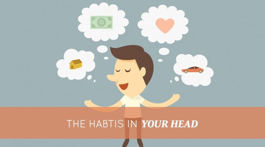 आदतें आपके मस्तिष्क से हैं !