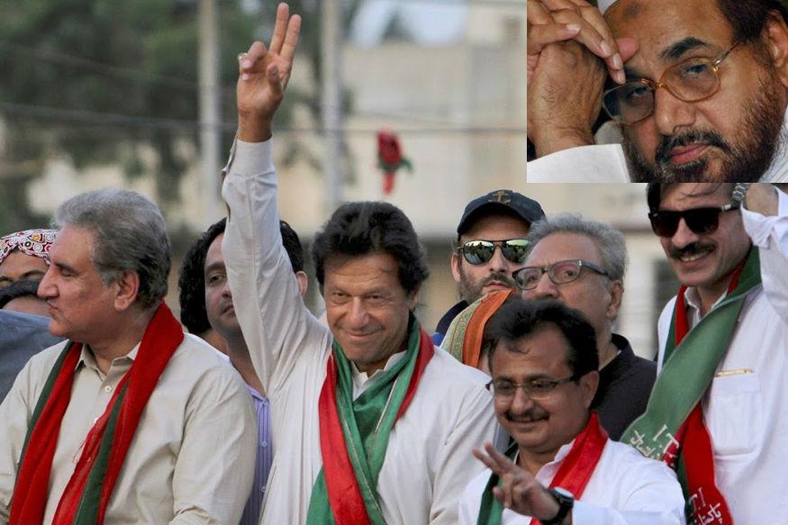 पाकिस्तान चुनाव में इमरान खान की लहर, आतंकी हाफिज की पार्टी का डिब्बा गोल