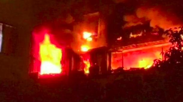 मुंबई: बिल्डिंग की 14वीं मंजिल पर लगी आग, 4 बुजुर्गों समेत 5 लोगों की मौत