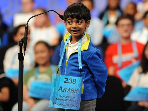The 6-year-old genius-Akash Vukoti, who steal the show National Spelling Bee 2019