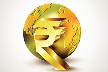 rupee recuperated and unlock 9 paise higher at 70.43% contrary to the US dollar