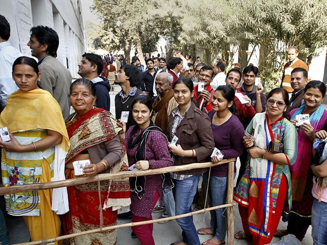 Most noteworthy ever voter turnout of 67.10% recorded in Lok Sabha Election