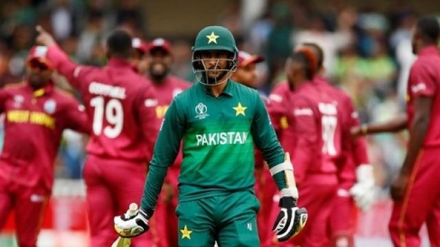 वेस्टइंडीज के खिलाफ पाकिस्तान के नाम जुड़ा शर्मनाक रिकॉर्ड
