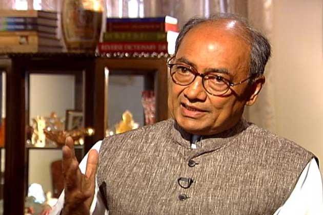 कांग्रेस नेता दिग्विजय सिंह के खिलाफ धामिर्क भावना आहत करने का केस दर्ज