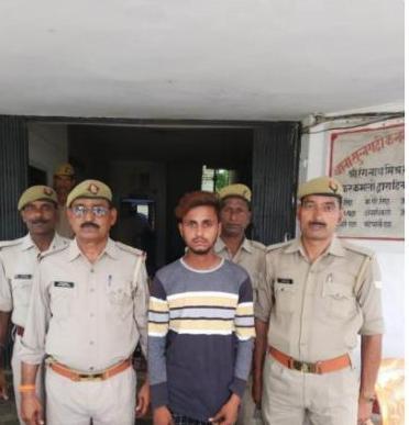 दुष्कर्म का आरोपी गिरफ्तार, भेजा जेल