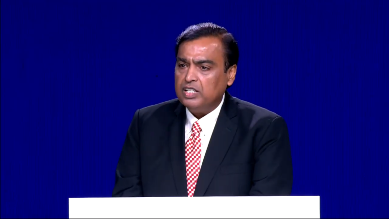 Reliance Announces 10-50% Pay Cut; Mukesh Ambani to Forgo Salary